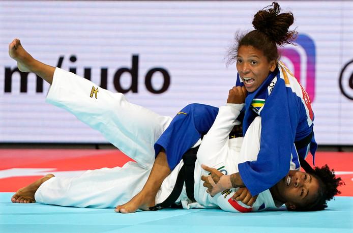 Rafaela Silva in actie.