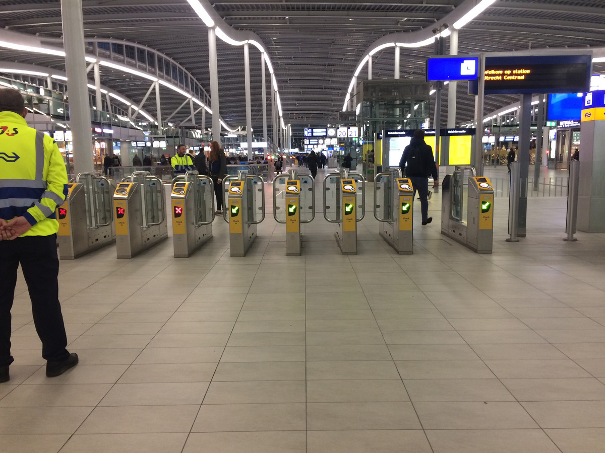 De poortjes op Utrecht Centraal zijn definitief dicht.