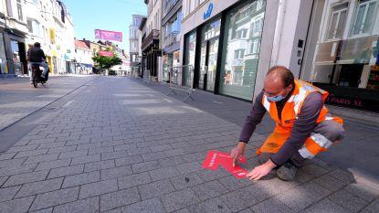 Kortrijkse handelaars en shoppers kijken uit naar maandag 11 mei, deze filmpjes geven richtlijnen mee