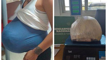 Vrouw veinst zwangerschap en smokkelt zo 4,5 kg cannabis