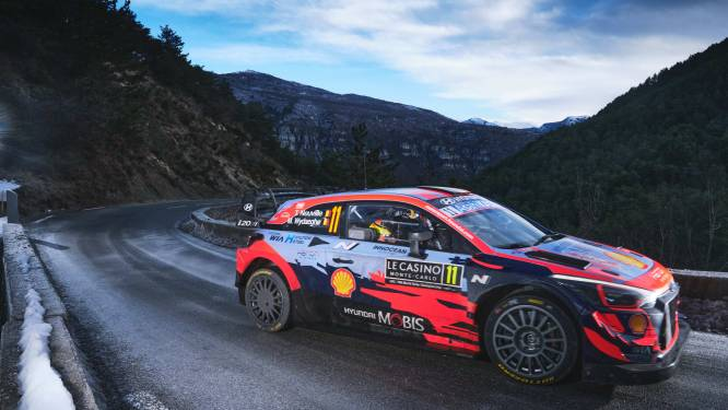 Martijn Wydaeghe debuteert met podium in WK Rally