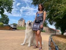 Lilian is altijd vrolijk na een wandeling met Gijs