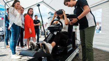 3D-ritje op Kolonel Dusartplein toont hoe je rijdt onder invloed van drugs