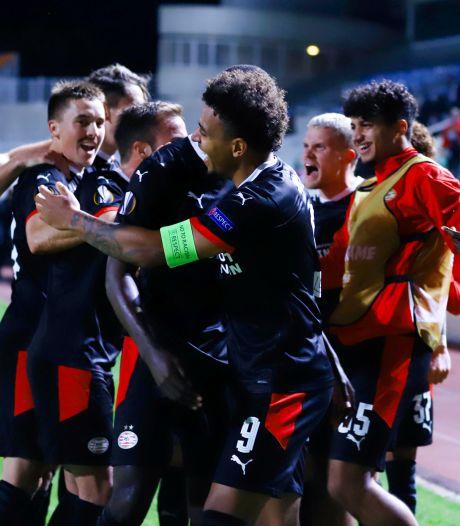 PSV verlaat Cyprus met enorme 'boost' na late en verdiende zege