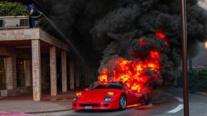 """Uitgebrande Ferrari F40 wordt compleet gerestaureerd: """"Enorme waarde"""""""