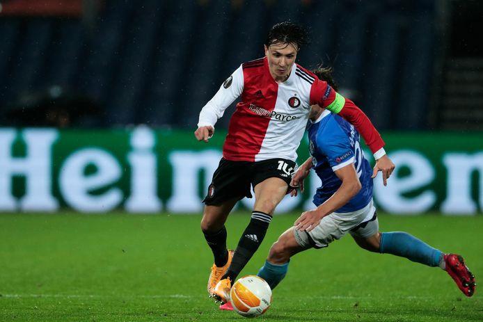 Als Steven Berghuis (5 doelpunten) vanavond scoort, komt hij in de top-10 van Feyenoorders met meeste Europese goals.