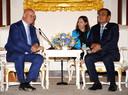 Minister Ferd Grapperhaus bezocht in augustus Thailand, waar hij met de Thaise premier sprak over Johan van Laarhoven.