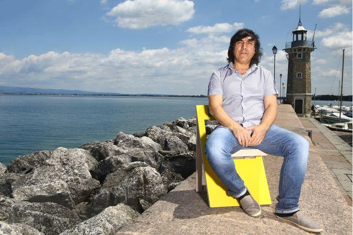 Djamolidin Abdoesjaparov werd na zijn loopbaan duivenmelker aan het Gardameer.