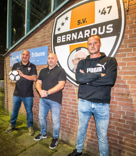 Driekoppige leiding van voetbalclub Bernardus luidt noodklok: dringend bestuurlijke vrijwilligers nodig