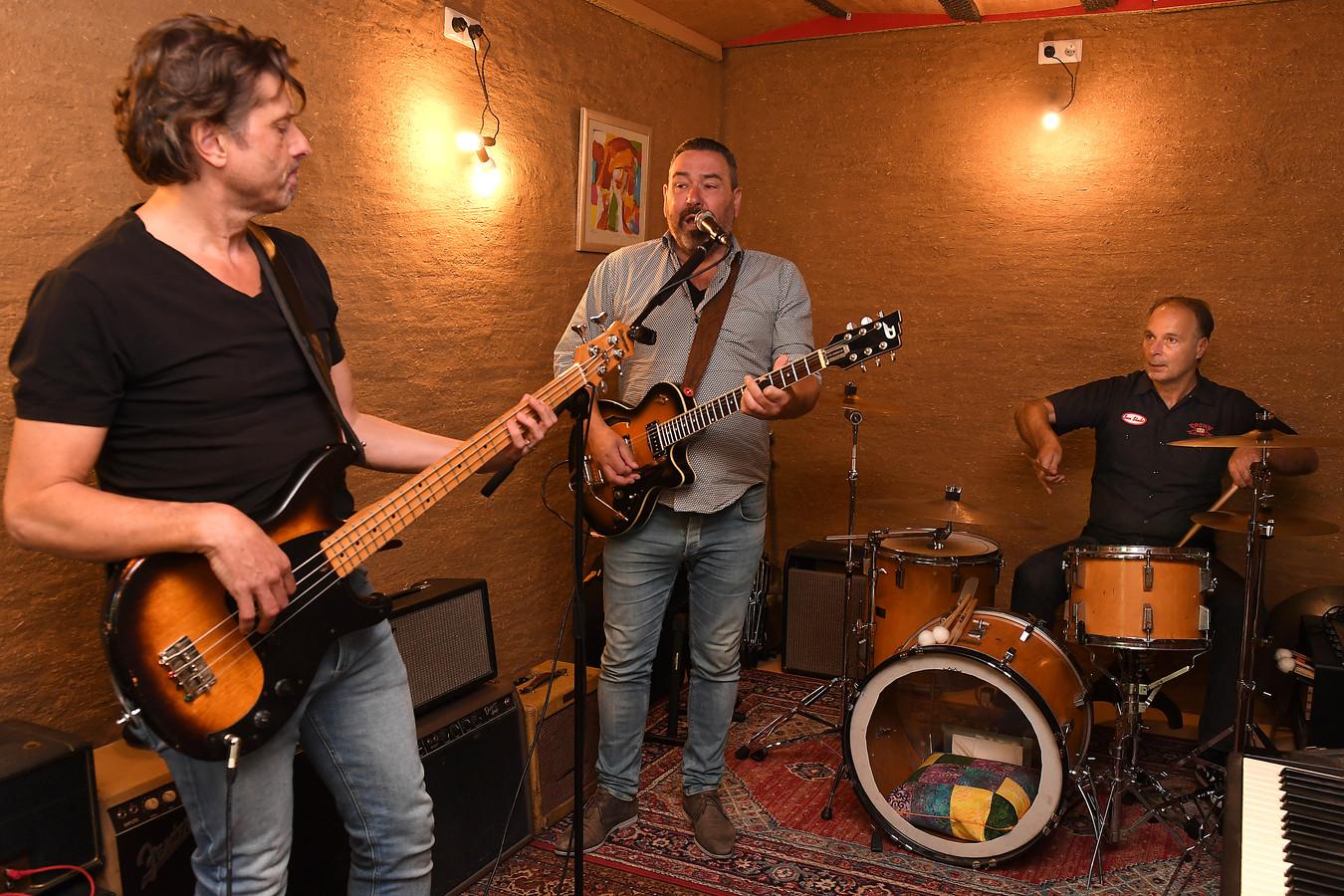 Vlnr: Jan van Heumen; Berno van Soest; Dominique Maassen.