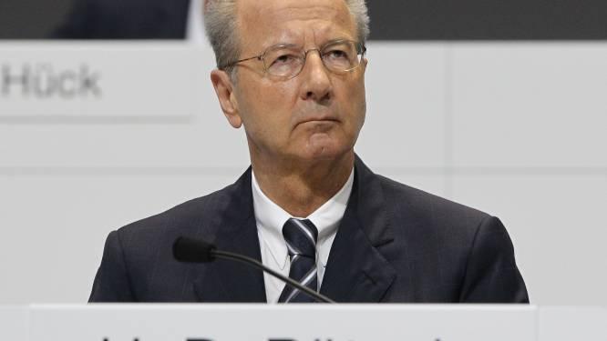 Nu ook onderzoek naar voorzitter Raad van Bestuur Volkswagen