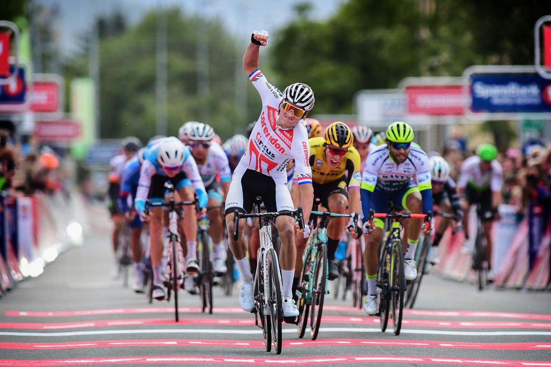 Mathieu van der Poel wint ook in Leknes.