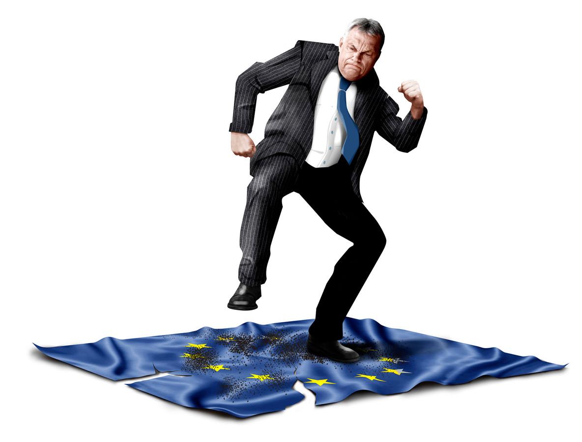 Orbán besmeurt de EU.