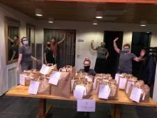 Klanten van de Voedselbank Vechtdal genieten thuis van kerstdiner: geslaagde operatie Rotary en Baron