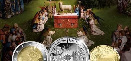 Jan Van Eyck krijgt zijn eigen euromunten