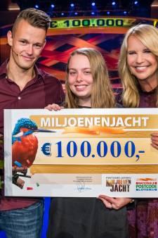 Kim uit Winschoten wint als jongste winnares ooit 100.000 euro in Miljoenenjacht
