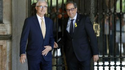 Geert Bourgeois haalt banden aan met nieuwe Catalaanse minister-president