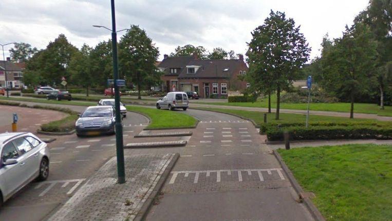 Omgeving van de Liesbosweg, waar het ongeval plaatsvond Beeld Google Streetview