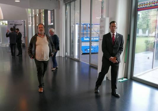 Extra beveiliging in Design Museum Den Bosch vanwege de nieuwe expositie over nazi-vormgeving.