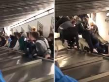 Zwaargewonden bij bizar incident met op hol geslagen roltrap in Rome