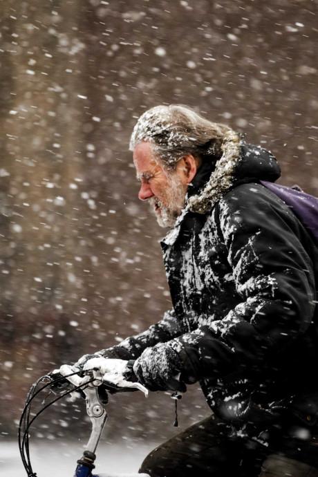 Koning Winter alweer op z'n retour