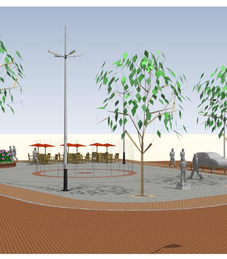 Herinrichting Molenplein Made in gang: bomen verplaatst