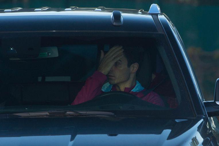 Lukaku zou de Spaanse assistent van Guardiola een waterflesje in het gezicht gegooid hebben.