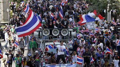 Oppositieleider in Thailand aangehouden