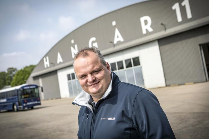 Marten Foppen van Hangar 11 wil het Songfestival naar Enschede halen.