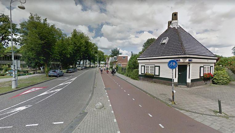 Aan de Buiksloterweg is sinds 20.00 uur geen stroom Beeld Google Streetview