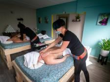 Gewaagde stap: massagesalon Mimosa opent in coronatijd