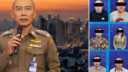 Belg opgepakt die vanuit hippe wijk in Bangkok bedrijven in ons land oplicht