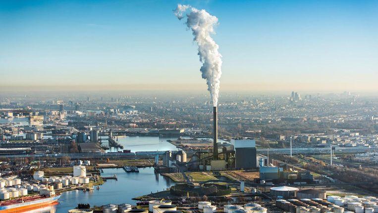 De Hemwegcentrale is de laatste kolencentrale van Nuon Beeld anp