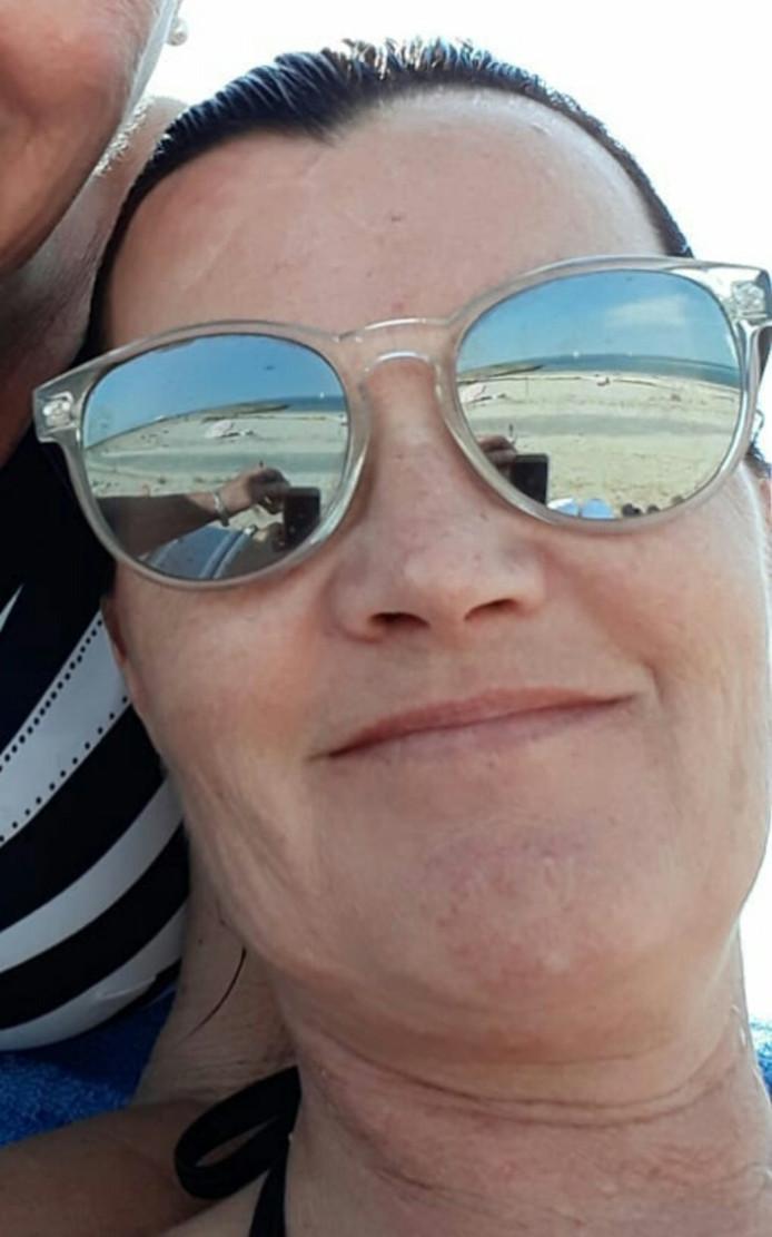 De vermiste Angelique Vis-Raas uit 's-Gravenpolder op een recente foto.