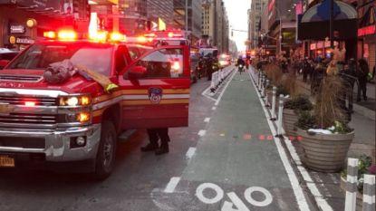 Explosie in busstation New York: man gearresteerd, vier lichtgewonden