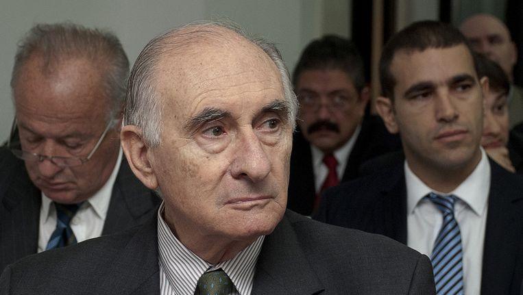 Oud-president Fernando De la Rua. Beeld ap