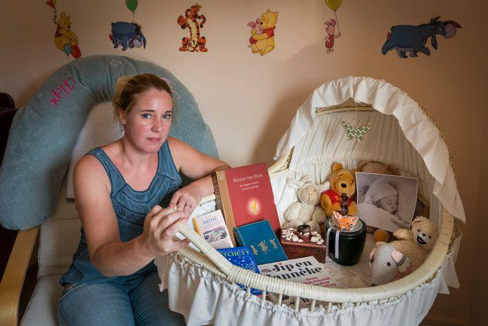 Marloes Schuiling, de moeder van de in 2014 overleden baby Luna.