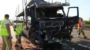 Trucker zwaargewond nadat hij inrijdt op staart van file voor wegenwerken op E17
