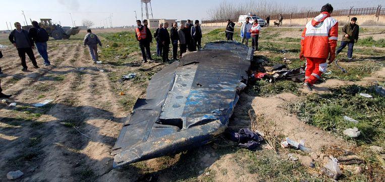 Alle 176 mensen die aan boord zaten van het toestel van Ukraine International Airlines kwamen om het leven. Beeld via REUTERS