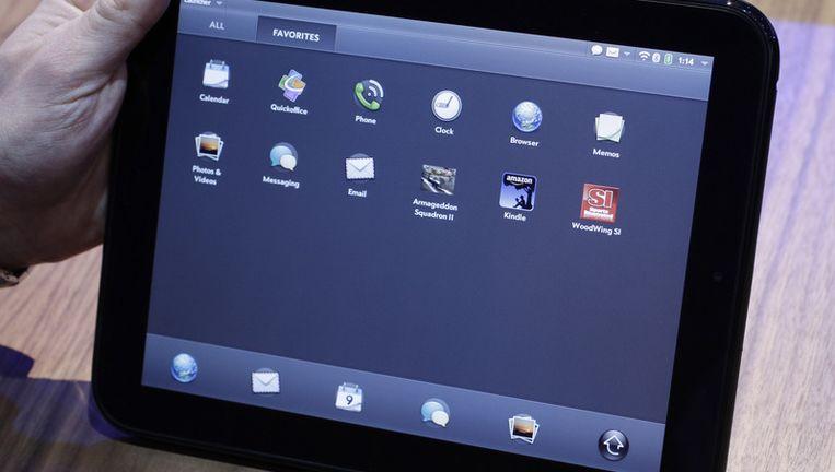TouchPad van Hewlett-Packard. Beeld ap