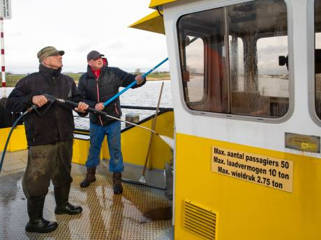 Pontje Eemdijk is klaar voor het nieuwe seizoen: 'Hij was behoorlijk vies, dus hier en daar wat extra sop'