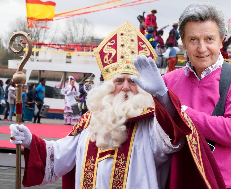 Willy Sommers is bang van Sinterklaas.