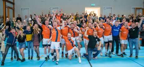 Megastunt Apollo: handballers uit Son schakelen eredivisionist Hellas uit