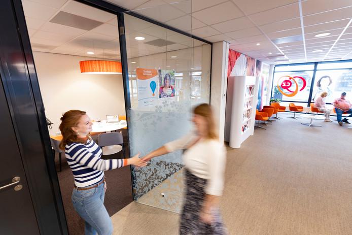 Het nieuwe Taalpunt in het CZ-servicekantoor in Helmond.