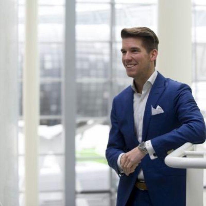 Jonge Bossche ondernemer Harald Dols, deelmnemer aan het debat