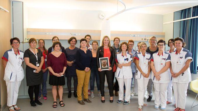 Heidi loopt 2.062 euro bijeen voor oncologisch dagziekenhuis