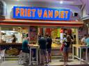 Snackbar Friet van Piet in Chersonissos.