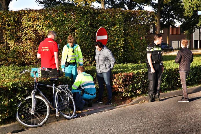 Jongen gewond bij ongeluk in Hapert