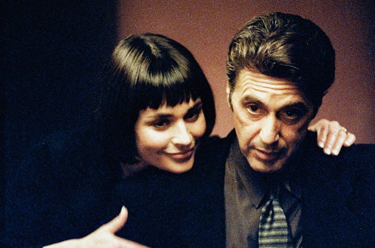 Diane Venora en Al Pacino in Heat van Michael Mann. Beeld