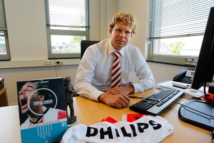 """Harrie Timmermans na de onthutsende gang van zaken rond de inmiddels afgelaste PSV-musical:  """"Wij zitten zakelijk in de wedstrijd."""""""